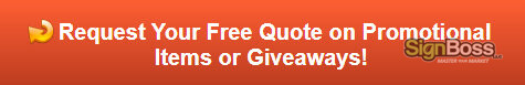 Request a free quote on promotional items or giveaways