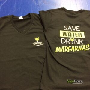 Las Margaritas Work Shirts