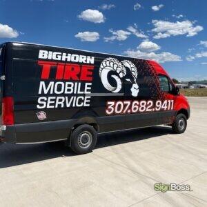 Big Horn Tire Mobile Service
