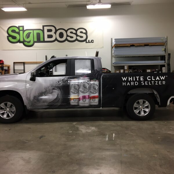 Chevy Truck Wraps in Sheridan WY
