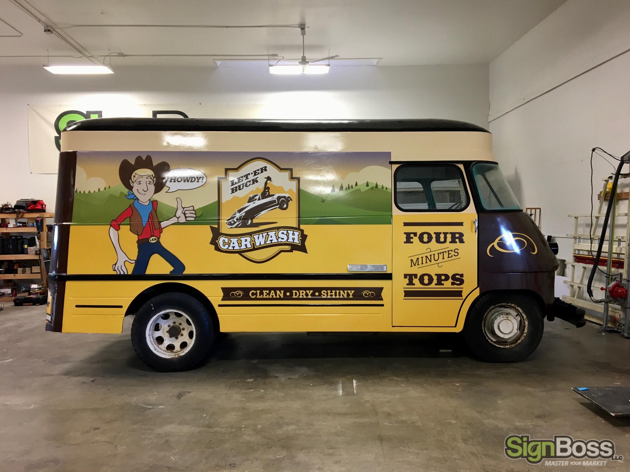 Custom Van Wraps in Casper WY