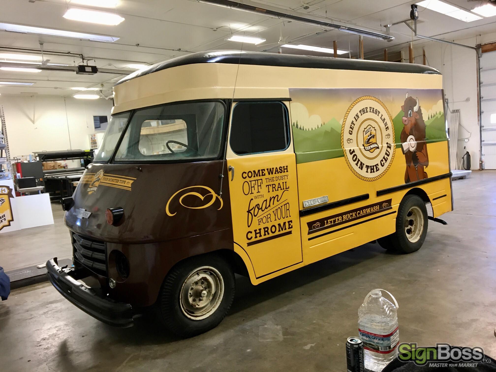 Promotional Van Wraps in Casper WY