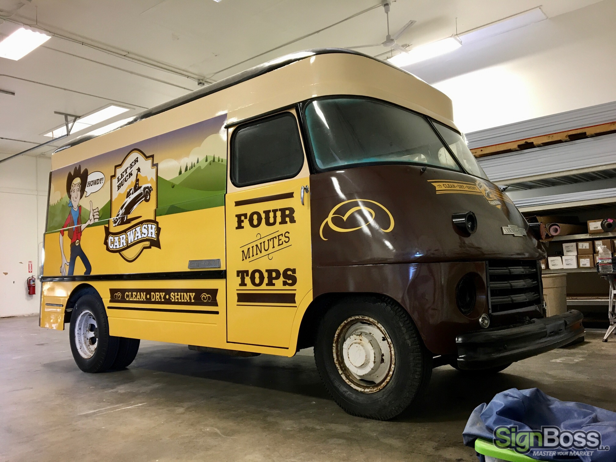 Classic Vehicle Wraps in Gillette WY