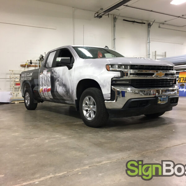 Promotional Truck wraps in Gillette WY