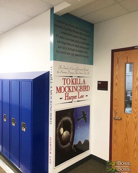 School Locker Wraps in Gillette WY