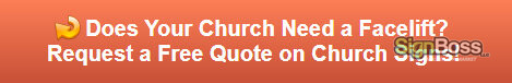 Free quote on church signs in Gillette WY