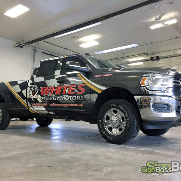 RAM Truck Wraps in Gillette WY