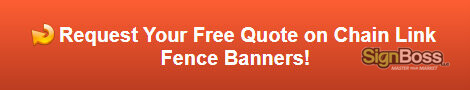 Free quote on chain link fence banners in Gillette WY