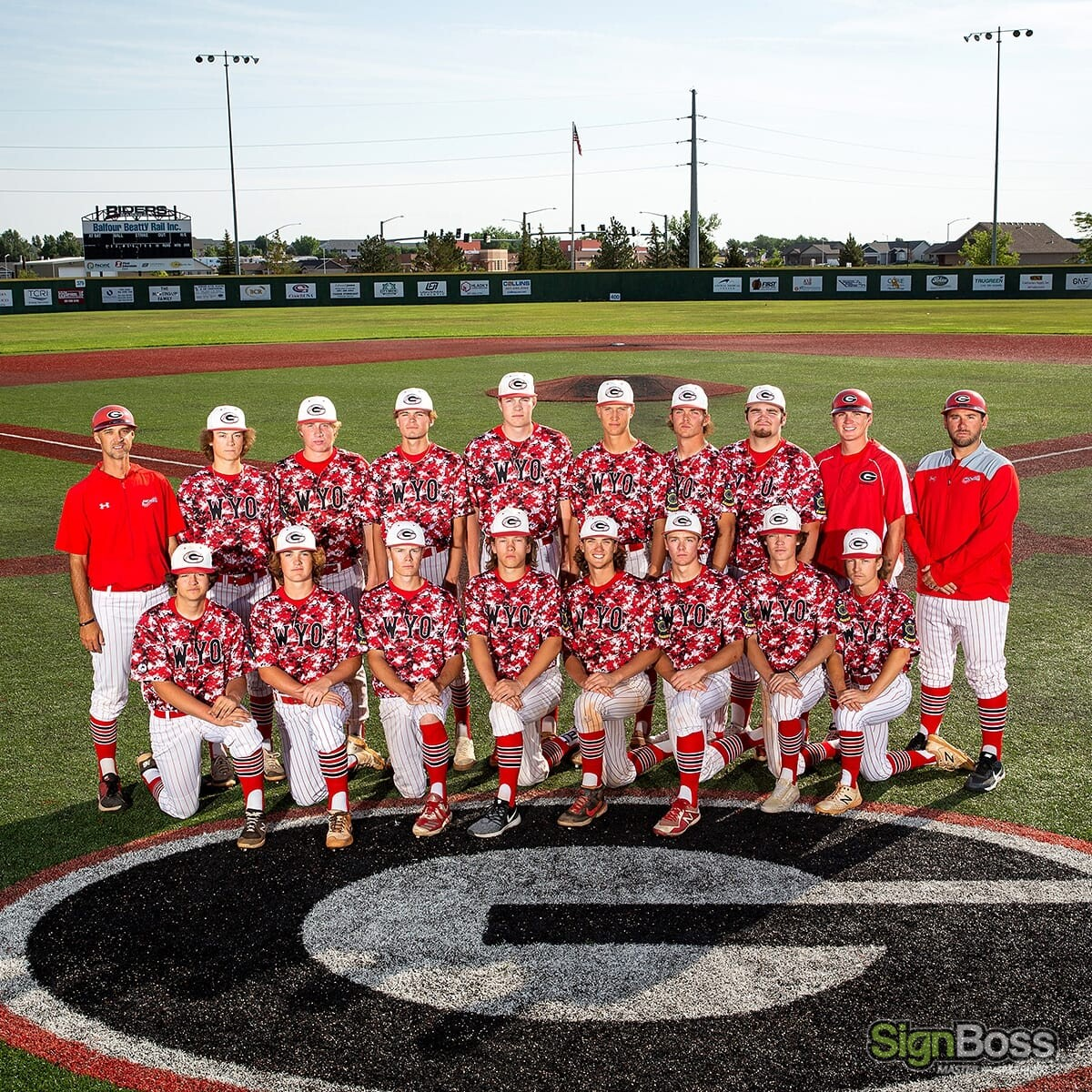 Gillette Riders Baseball Team