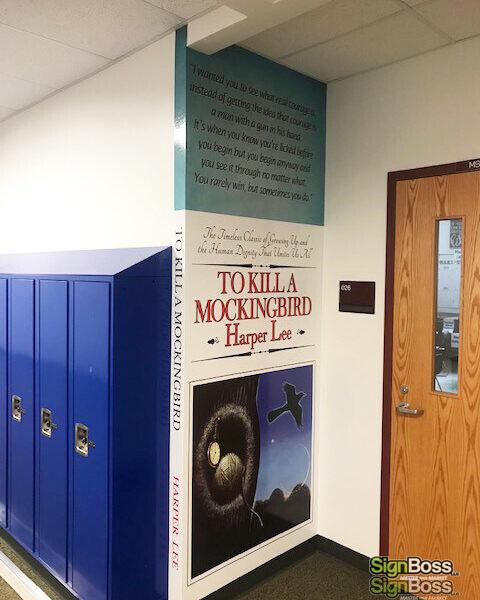 Vinyl Wraps for School Lockers in Gillette WY