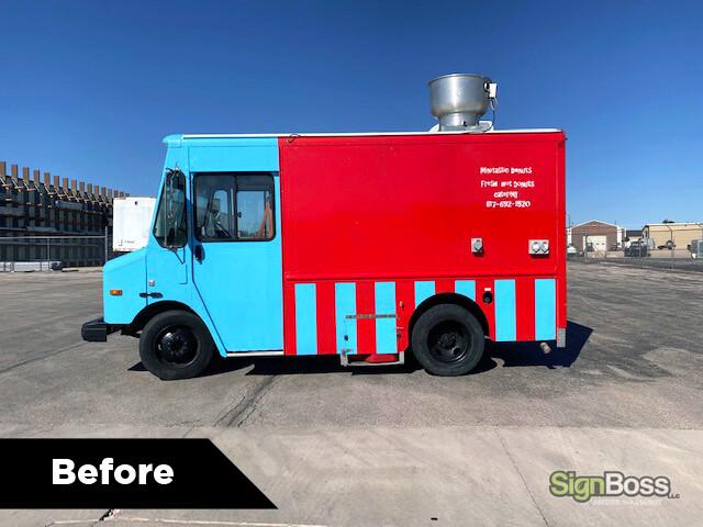 Food Truck Wraps in Buffalo WY