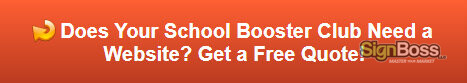 Free quote on school booster club websites