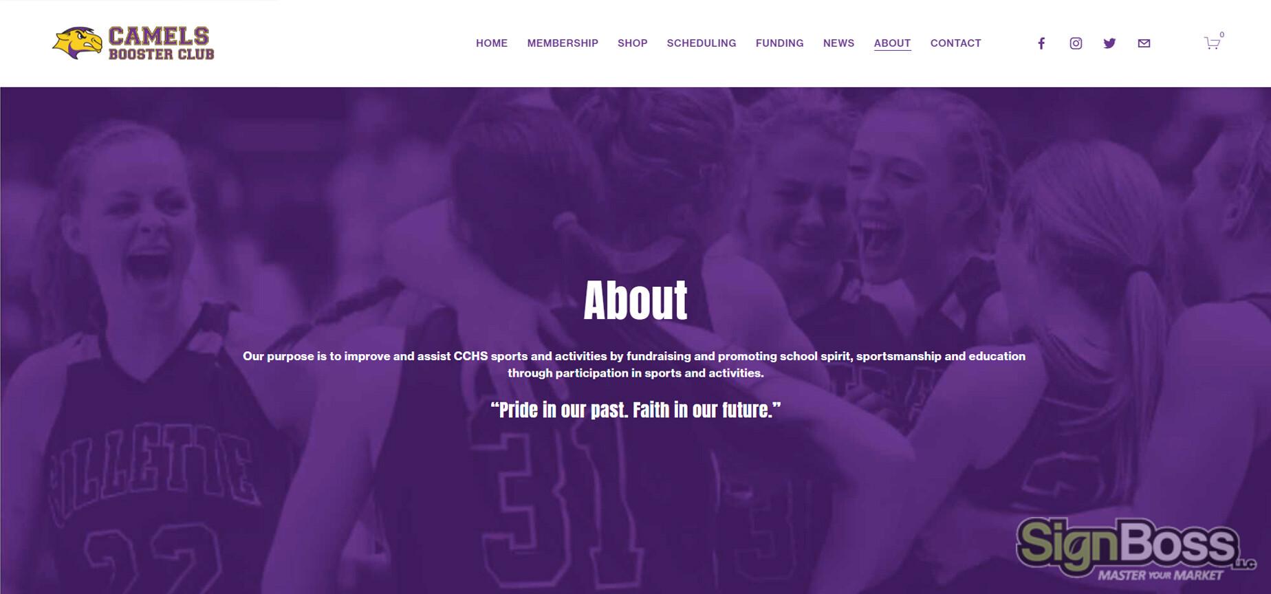 School Booster Club Websites in Gillette WY
