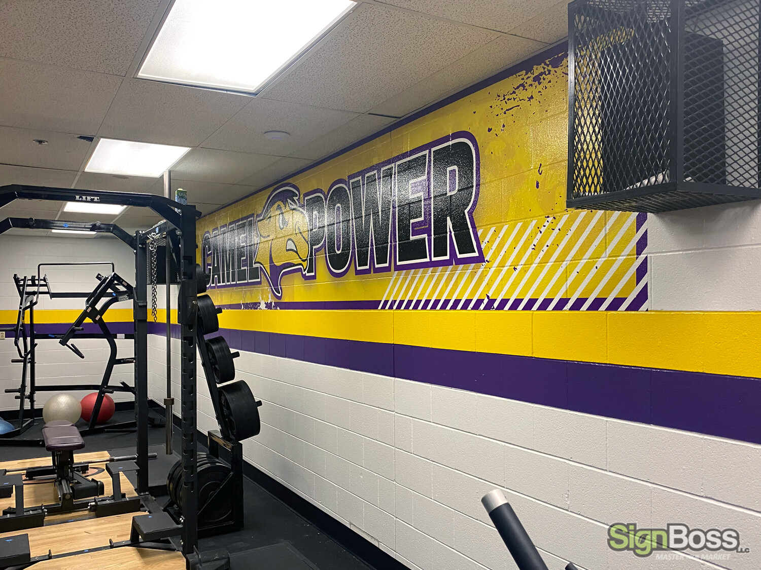 School Gym Wall Graphics in Gillette WY