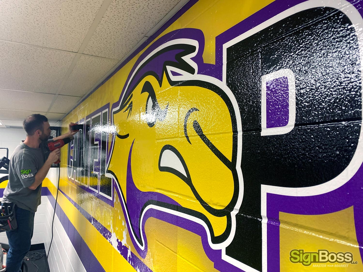 School Pride Wall Graphics in Gillette WY