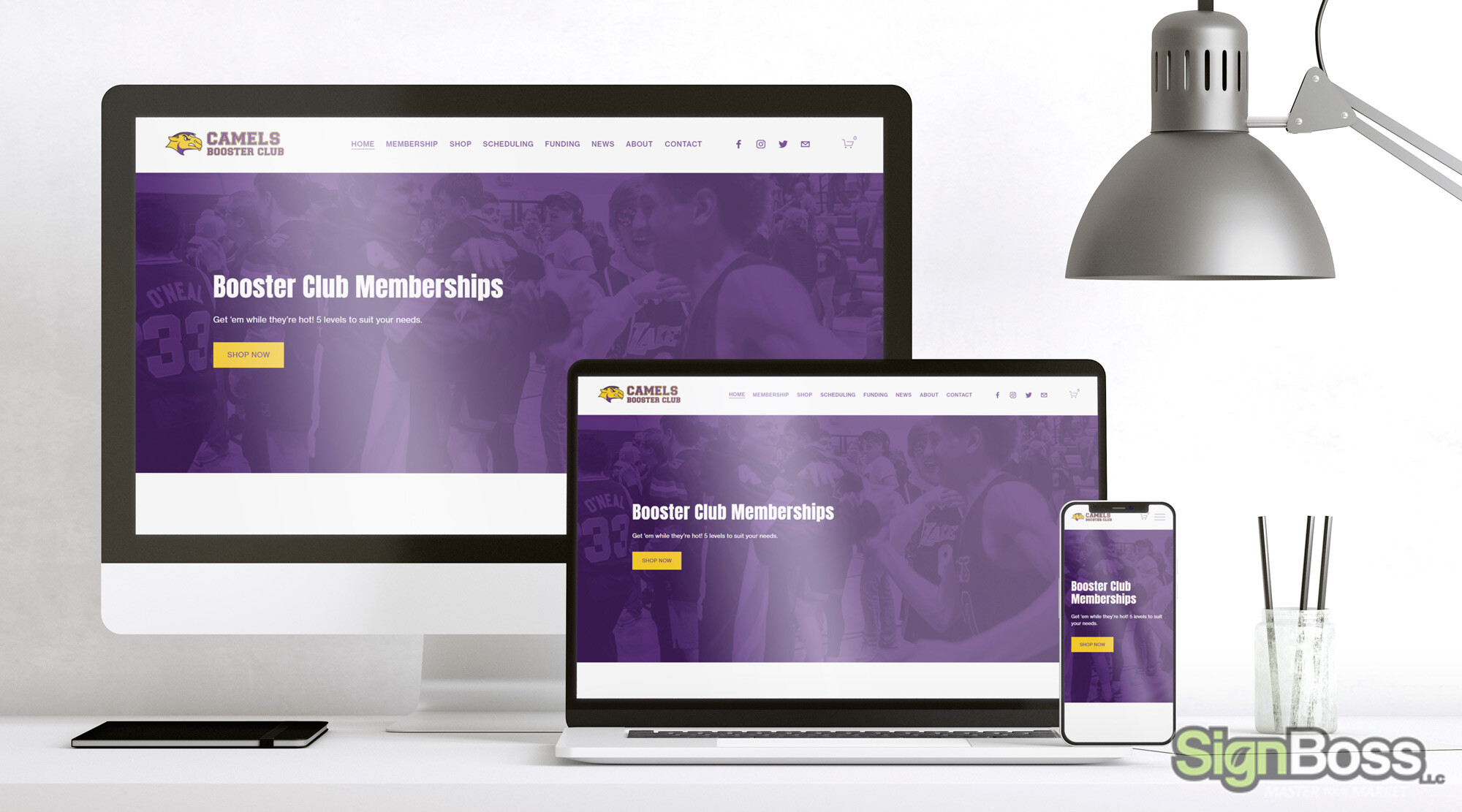 Websites for School Booster Clubs in Gillette WY