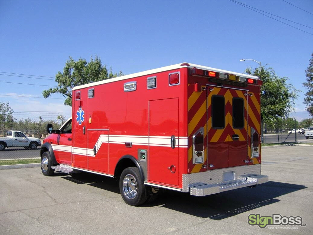 Ambulance Graphics in Crook County WY