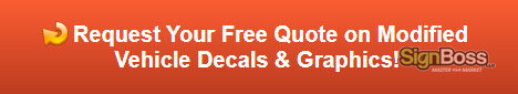 Free quote on modified vehicle decals and graphics
