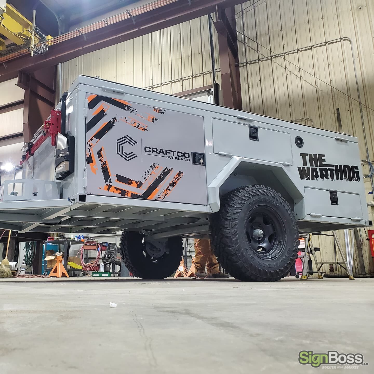 Modified Vehicle Graphics in Gillette WY